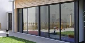 Elegant porte d entree avec baie coulissante pvc 21 a for Porte de garage coulissante avec porte d entrée pvc
