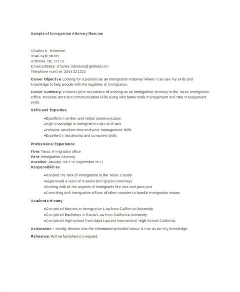 attorney resume 9 free word pdf documents