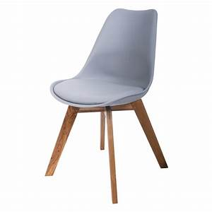 Stuhl Leder Grau : 2er set design esszimmerstuhl k chenstuhl holzstuhl stuhl st hle grau leder neu ebay ~ Indierocktalk.com Haus und Dekorationen