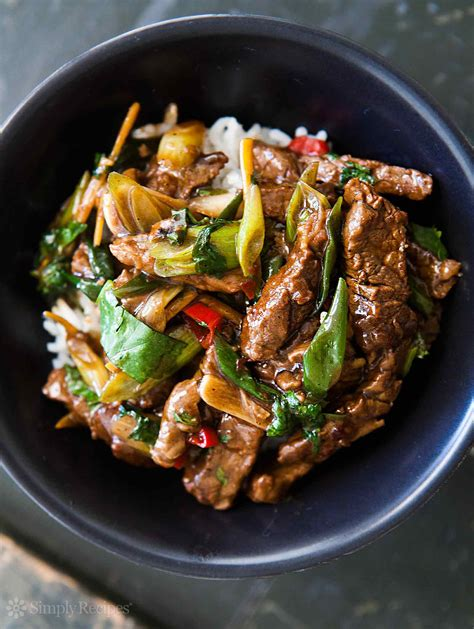 beef stir fry spicy asian ginger beef stir fry food so good mall