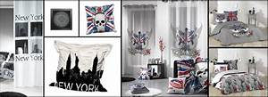Décoration New York Chambre : idee decoration chambre ado new york 4 refaire la d233co de la chambre de votre ado digpres ~ Melissatoandfro.com Idées de Décoration