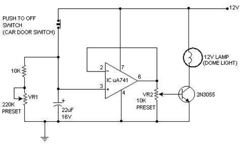 Dome Light Dimmer For Cars Electronics Circuits Hobby