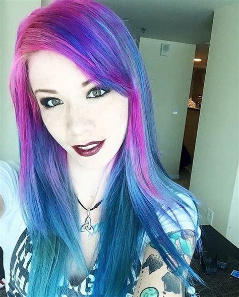 Galaxy Hair Colour Ideas Popsugar Beauty Australia