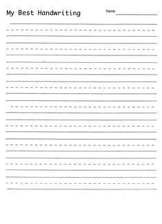 handwriting practice sheets images handwriting