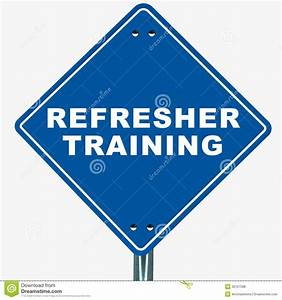 Refresher training stock illustration. Illustration of ...