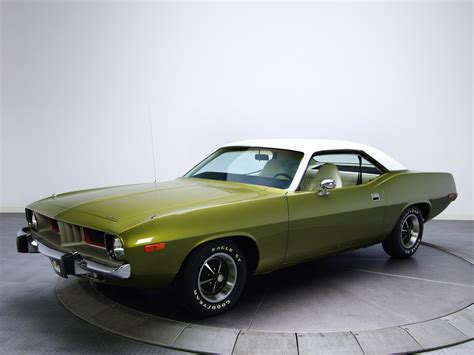 1974 Plymouth Barracuda Cars Classic Wallpaper