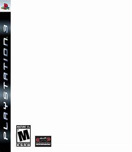 Ps4 game case template for Video game cover template