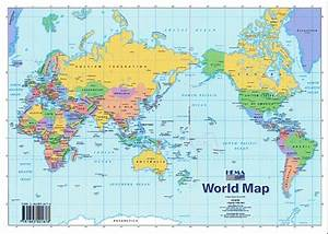 printable blank world map with