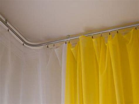 windows curtain rods rails track system ceiling mounted