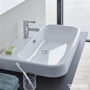 Duravit Happy D : duravit happy d 2 vanity washbasin white with wondergliss with 1 tap hole grounded ~ Orissabook.com Haus und Dekorationen