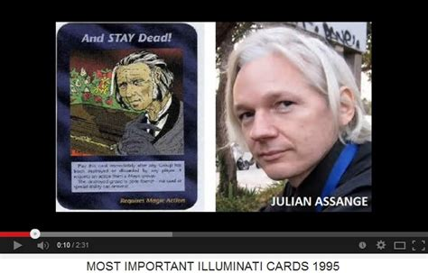 Julian Assange Illuminati by 1995 Illuminati Card 02 Quot Most Important