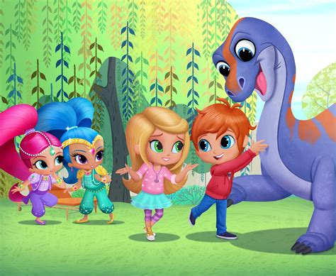 shimmer and shine l nickalive nickelodeon junior france to premiere quot shimmer