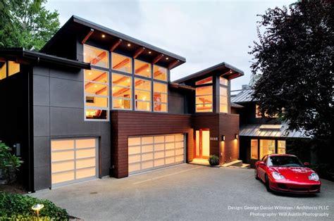 modern westcoast waterfront home design mercer island