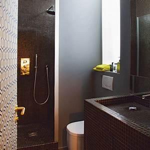 salle de bain 5m2 avec douche italienne With modele salle de bain 5m2