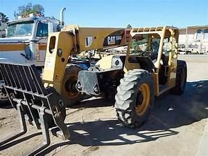 Caterpillar Cat Tl642 Tl943 Telehandler Service Repair