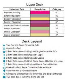 Carnival Conquest Deck 6 Plan by Carnival Conquest Ship Cruise
