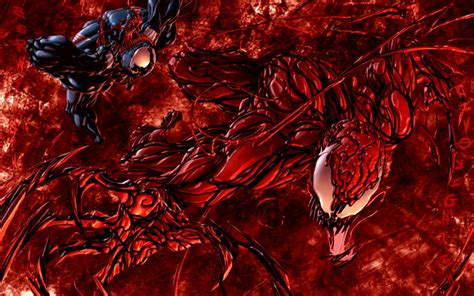 It features the first appearance of the toxin symbiote. Carnage vs Venom Wallpaper ·① WallpaperTag