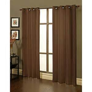 sherry kline faux silk grommet blackout window curtain