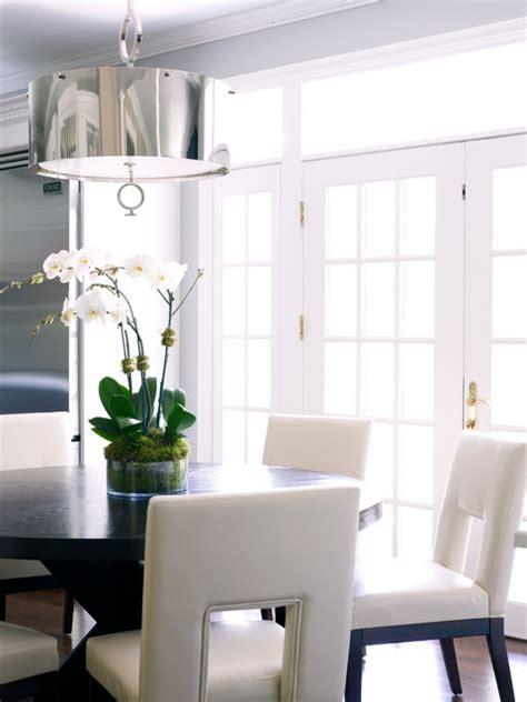modern classic interiors modern dining room  york