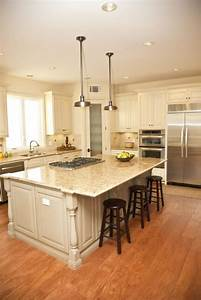 32, Spectacular, White, Kitchens, With, Honey, And, Light, Wood, Floors, Pictures