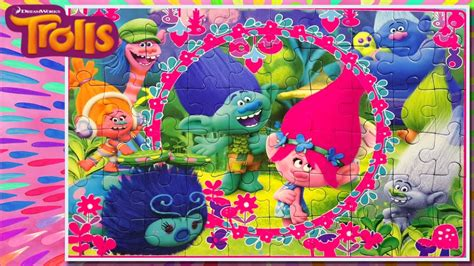trolls puzzle toys  poppy  branch singing jigsaw