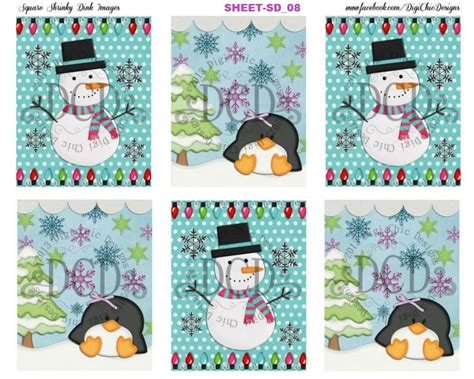 diy printable merry christmas snowmen christmas