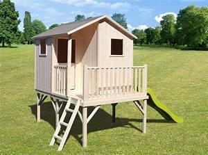 Maisonnette Enfant Pas Cher : cabane pour enfant en bois cabanes abri jardin ~ Melissatoandfro.com Idées de Décoration