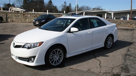 2014 Toyota Camry Review by 2014 Toyota Camry Se Review And Test Drive