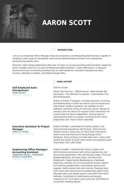 Entrepreneur Cv by Self Employed Auto Entrepreneur Resume Exle Business