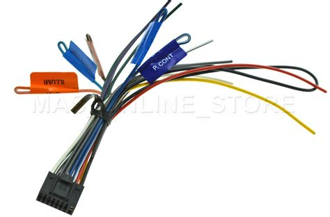 kenwood kdc  kdcx genuine wire harness pay today