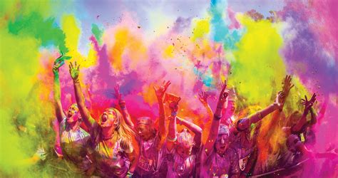Prescription Halloween Contacts Australia by Keeping Your Eyes Safe At Color Run Amp Holi Festivals Uniqso