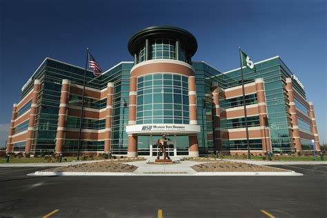 bureau union lobby of the msufcu headquart michigan state