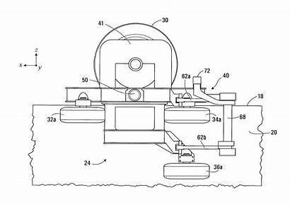 Bogie Patents Monorail Drawing Traction Control