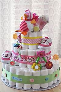 Funny baby shower gift ideas - How to make a 3-layer DIY