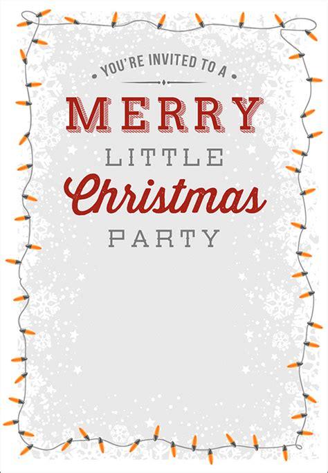 printable christmas invitation templates sample templates
