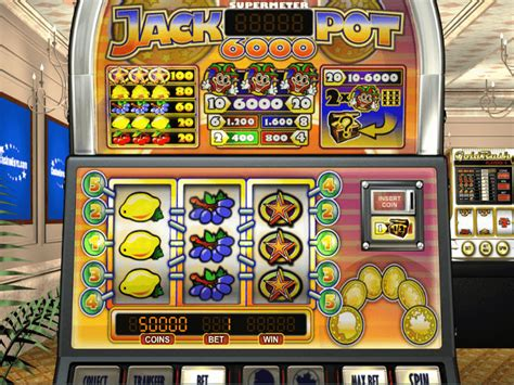 Jackpot 6000 ™ Slot Machine - Play Free Online Game ...