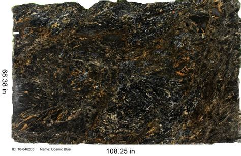 Cosmic Blue   Granite Countertop Color   C&D Granite