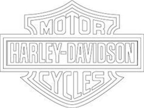 Printable Harley Davidson Stencil