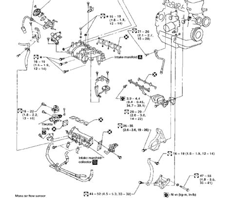 Nissan Cube Engine Diagram by Where Is The Pcv Valve Located On A Four Cylinder 1998
