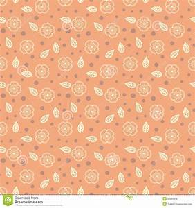 Pattern With Stylized Sakura Flowers Stock Vector - Image ...