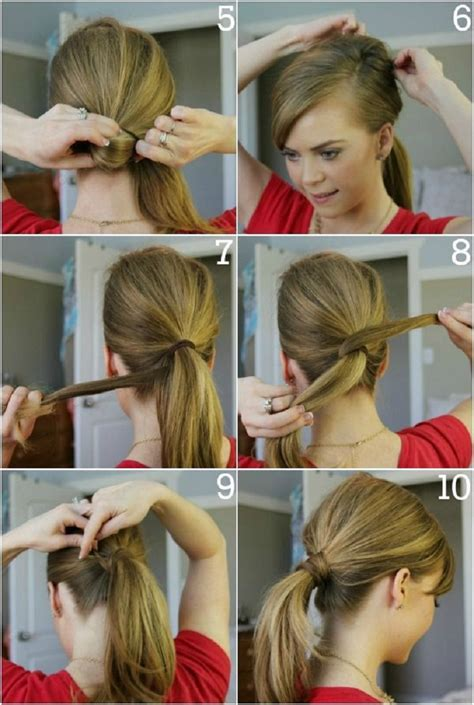 easy way to style hair top 10 fashionable ponytail tutorials top inspired 4053
