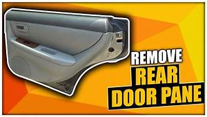 How To Remove The Rear Door Panel On A Lexus Es300