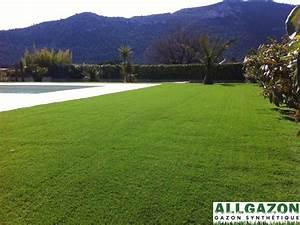 Gazon Synthétique Prix : gazon synth tique green fraicheur 37mm gazon artificiel allgazon ~ Farleysfitness.com Idées de Décoration