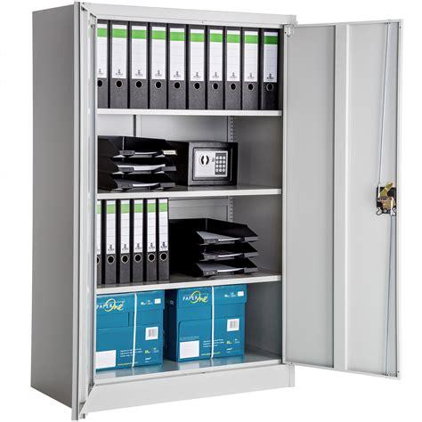 bureau dans armoire office storage cupboard metal filing cabinet tool cabinet