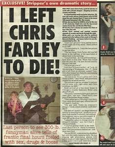 Chris Farley images the night chris died wallpaper photos ...
