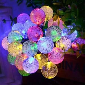 Guirlande Lumineuse Exterieur Solaire : simpvale guirlandes lumineuses d 39 ext rieur 30 led solaire ~ Dailycaller-alerts.com Idées de Décoration
