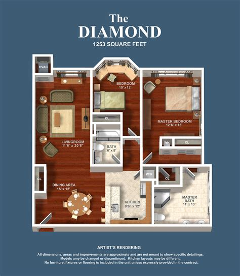 floor plans diamond building   parkline condominium
