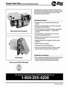Ruud G100-250 A  Manuals