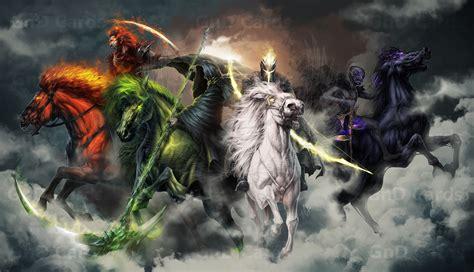 apocalypse four horsemen horseman names prophecy yesterday question today