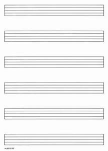 Blank Music Staff With Measures Free Paper Pictures